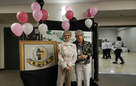 Fashion show and tea with looks put together by the Ridge Meadows Hospice Thrift Store