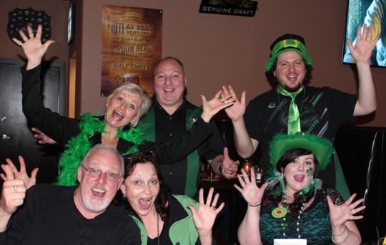 Pub night fundraiser for St. Paddy's Day