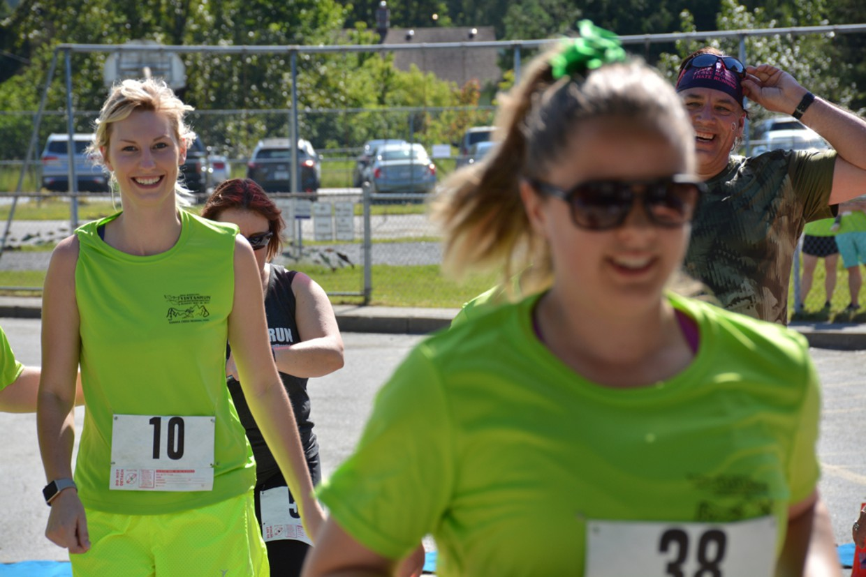 Teams helped fundraise for the 20th Annual Vistas Run & Walk for the Ridge Meadows Hospice Society