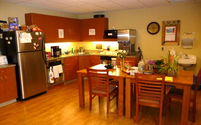 Kitchen at McKenney Creek Hospice