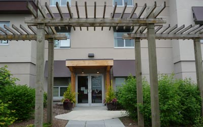 Exterior photograph of McKenney Creek Hospice